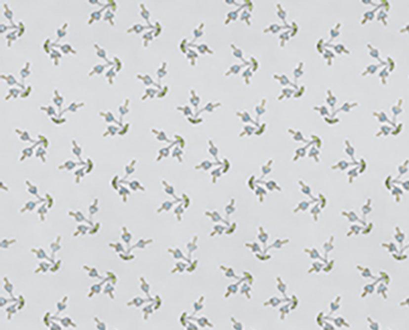 Remnant - 1 yard - Free Spirit - The Dress - Blossom PWLH006 Gray