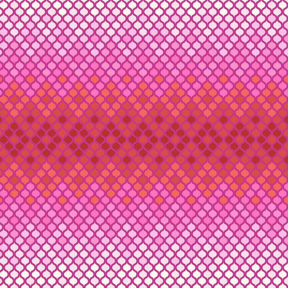 Remnant - 1/2 yd - Tula Pink Eden - Mosaic Magenta - PWTP076.MAGEN