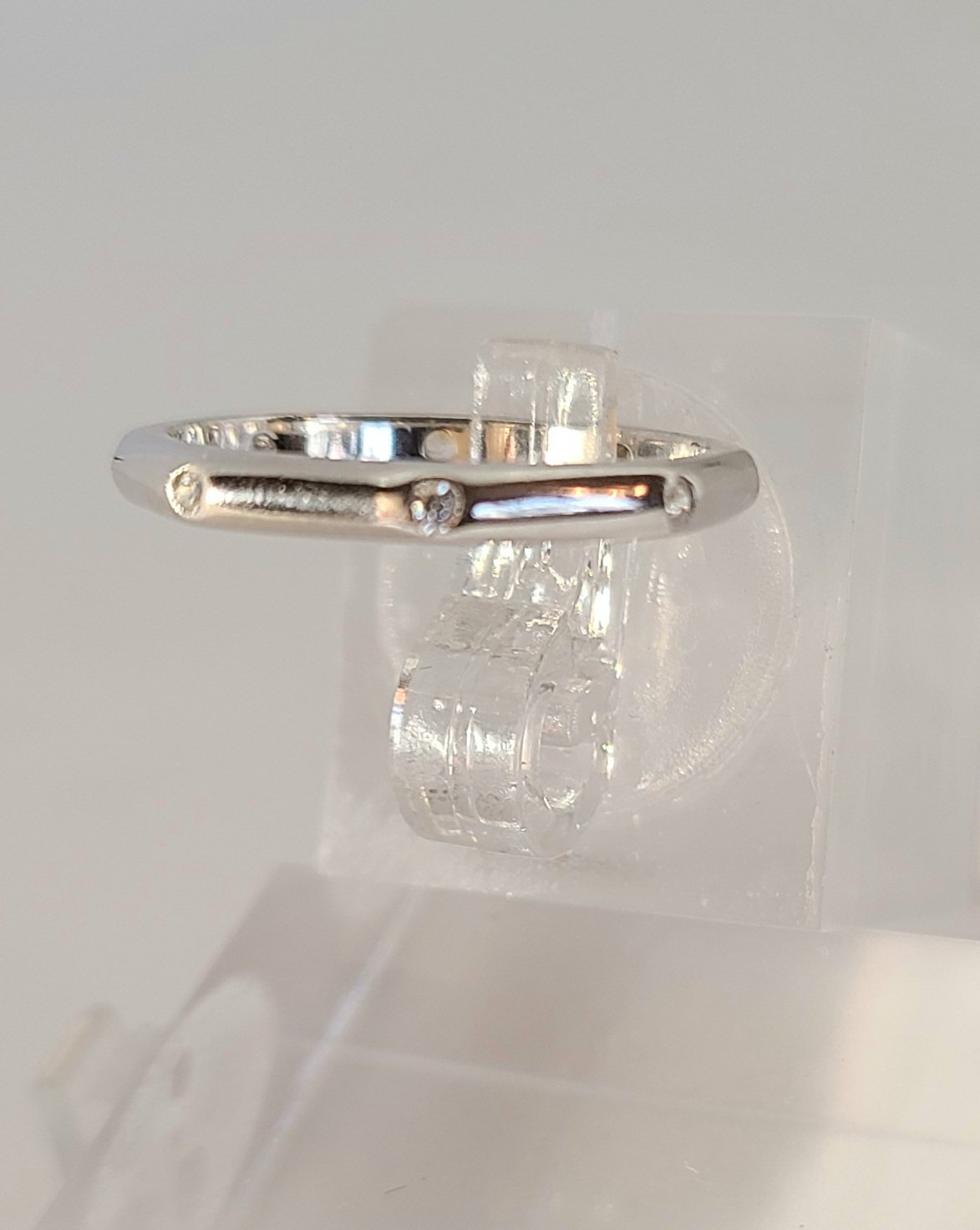 Hexagon Shape Stone Toe ring