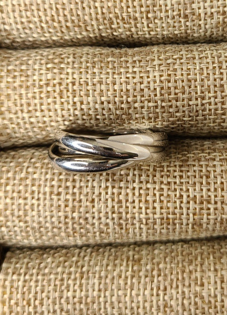 Triple Band Stainless Thumb Ring