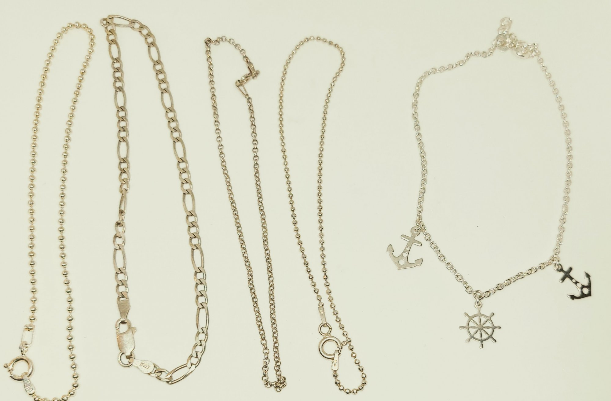 Anklet #9 --- 9 Sterling Silver Selections