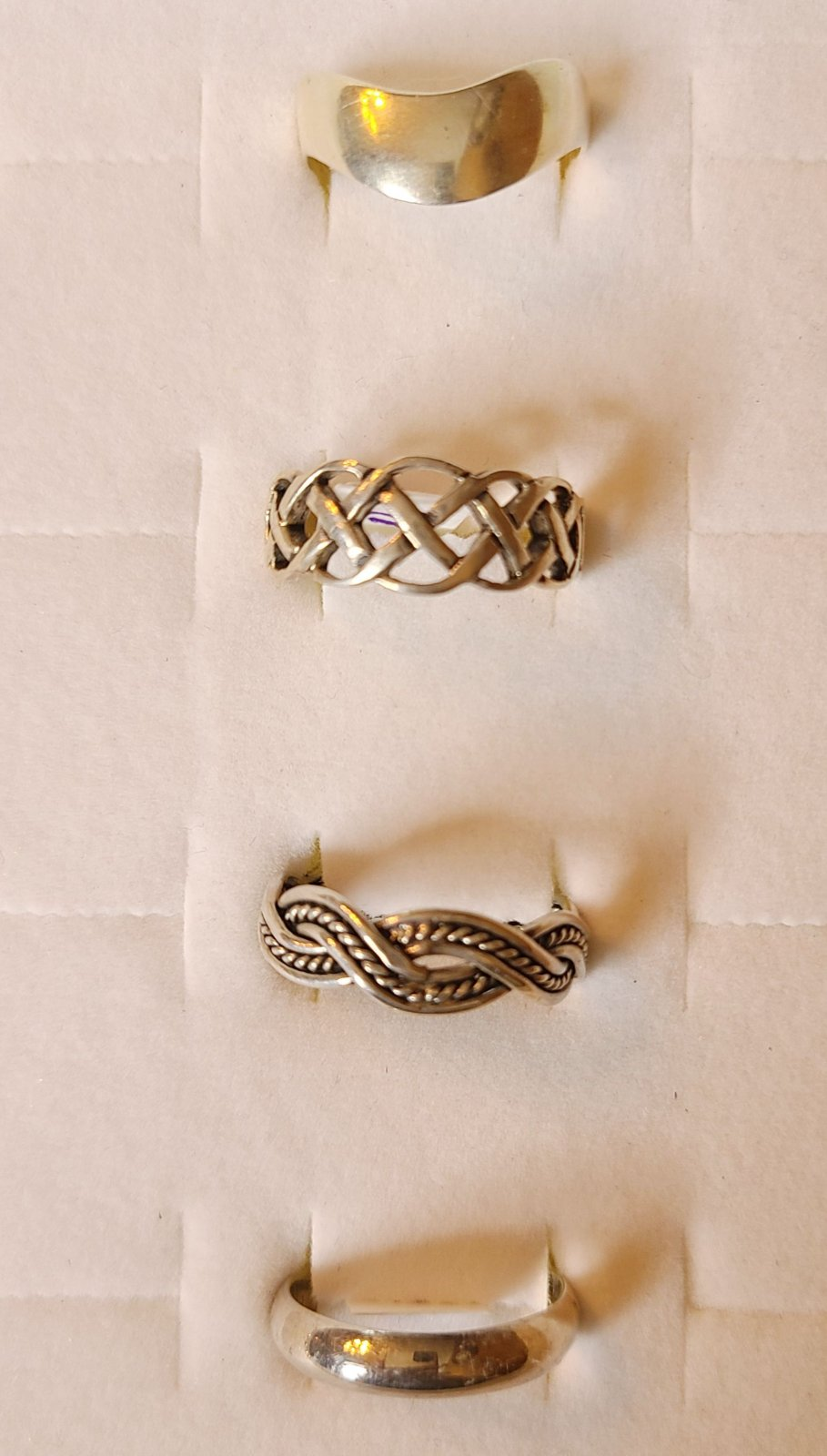 Sterling Silver Size 11 Thumb Ring Selections