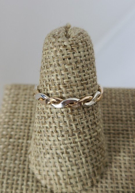 Gold & Silver Mix Braid