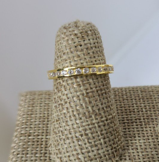 Gold Thin Channel Set