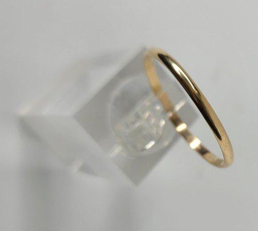 14K Gold-Fill Thin Smooth Big Toe Ring