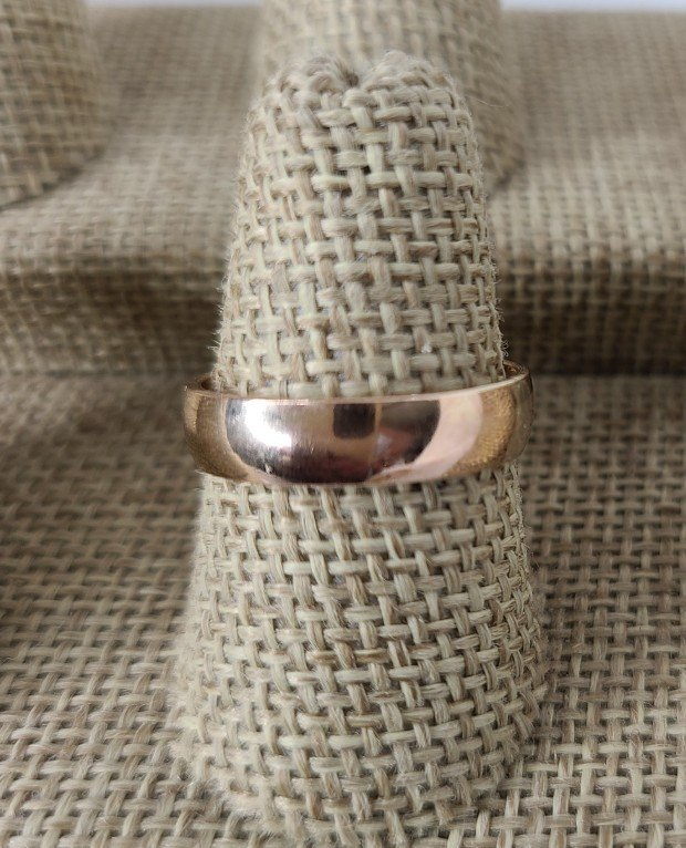 Rose Gold-Fill Thick Band