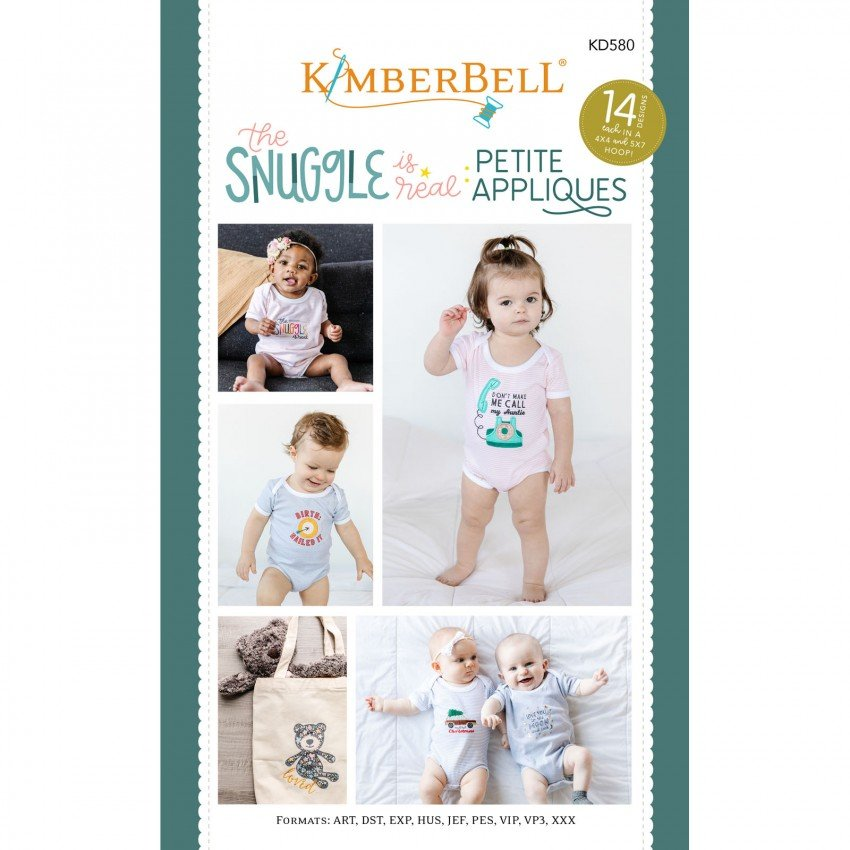 KID580 Embroidery CD The Snuggle is Real