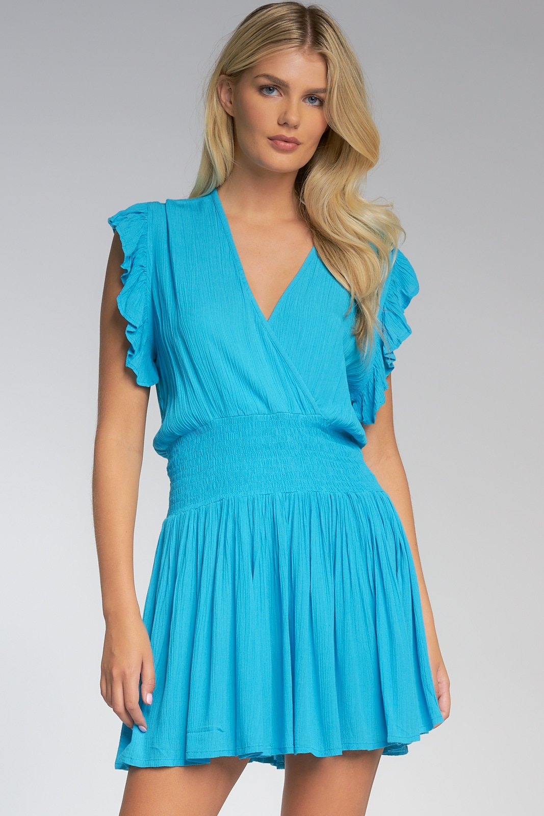 Twinkle of My Eye Crinkle Dress