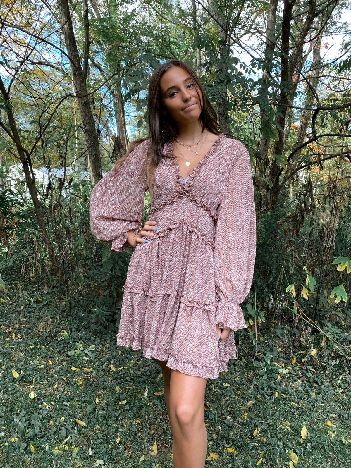 SS Assorted Fall Dress