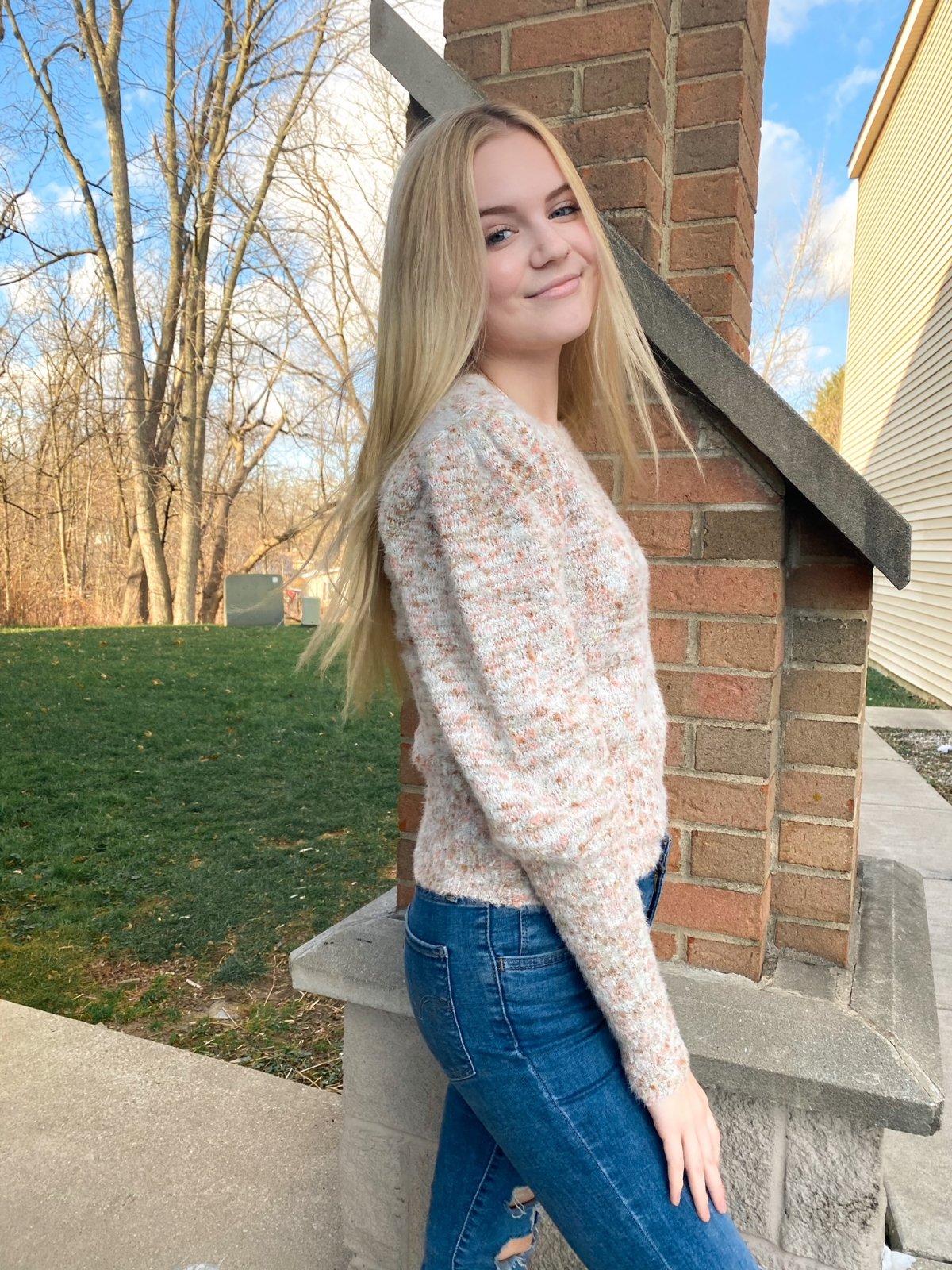 Fleck the Halls Sweater