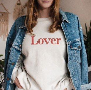 Lover not a Fighter Sweat Shirt