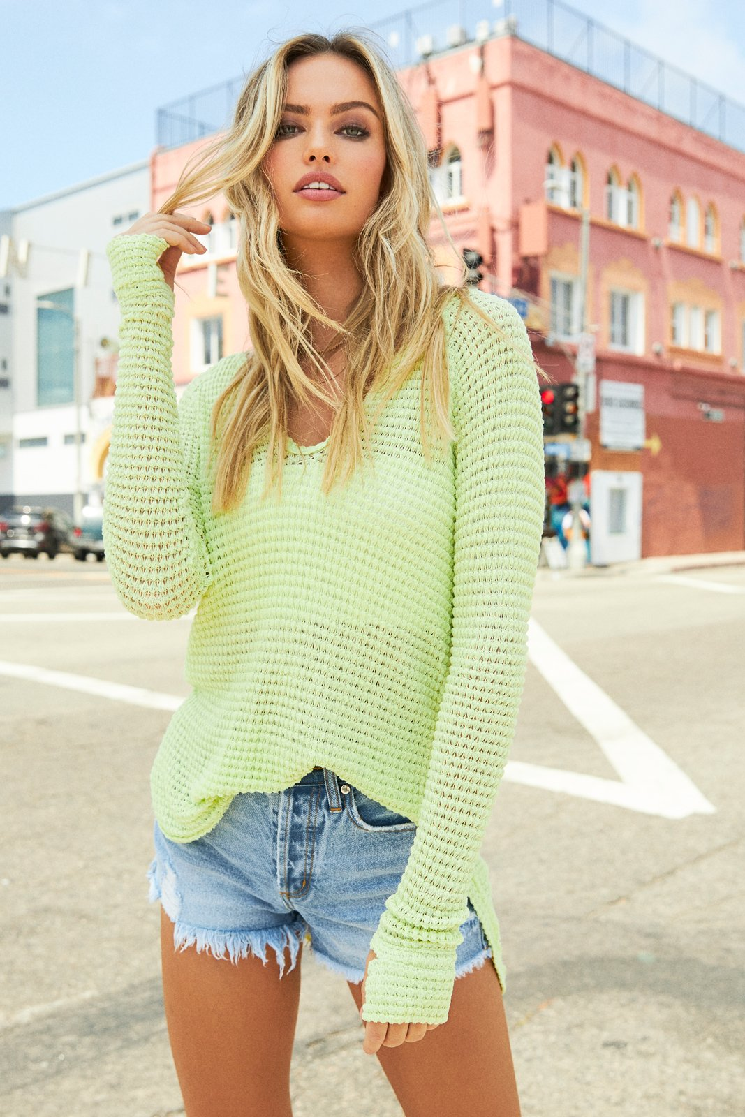 Key Lime Time Sweater