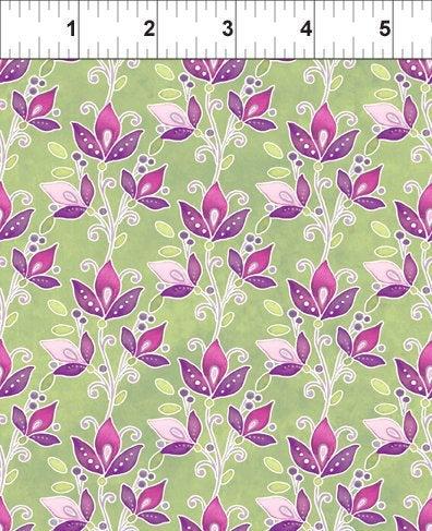 Ajisai by Jason Yenter - C4AJI-3 - Purple Leaf Vines