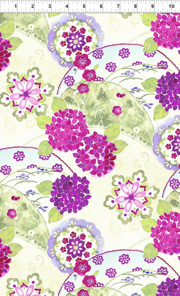 Ajisai by Jason Yenter - C1AJI-3 - Purple Collage