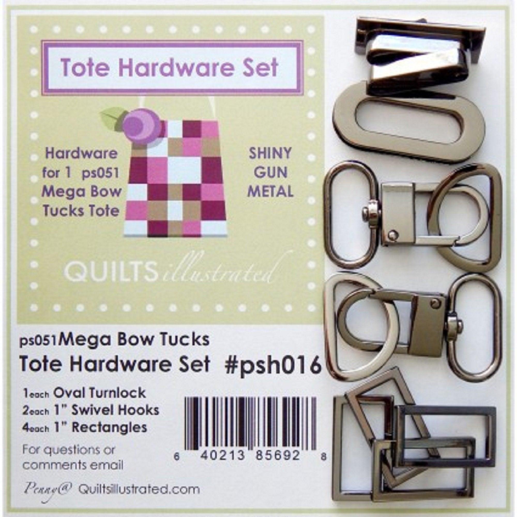 Mega Bow Tucks Tote Hardware Set
