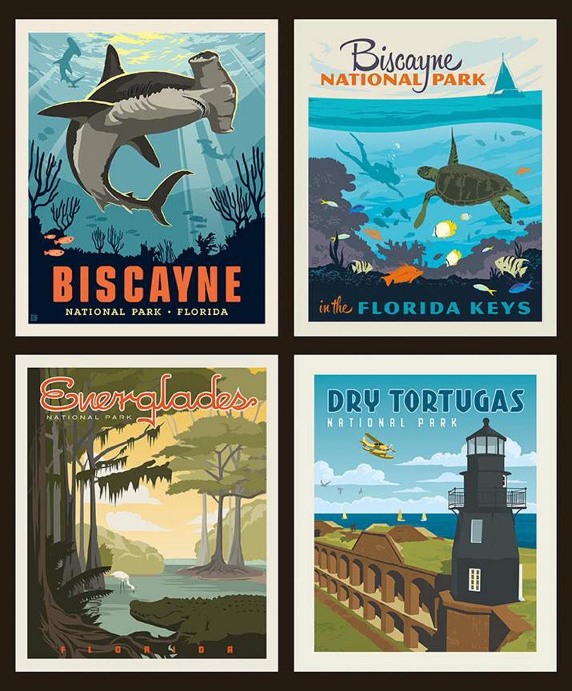 National Parks Panel - Florida