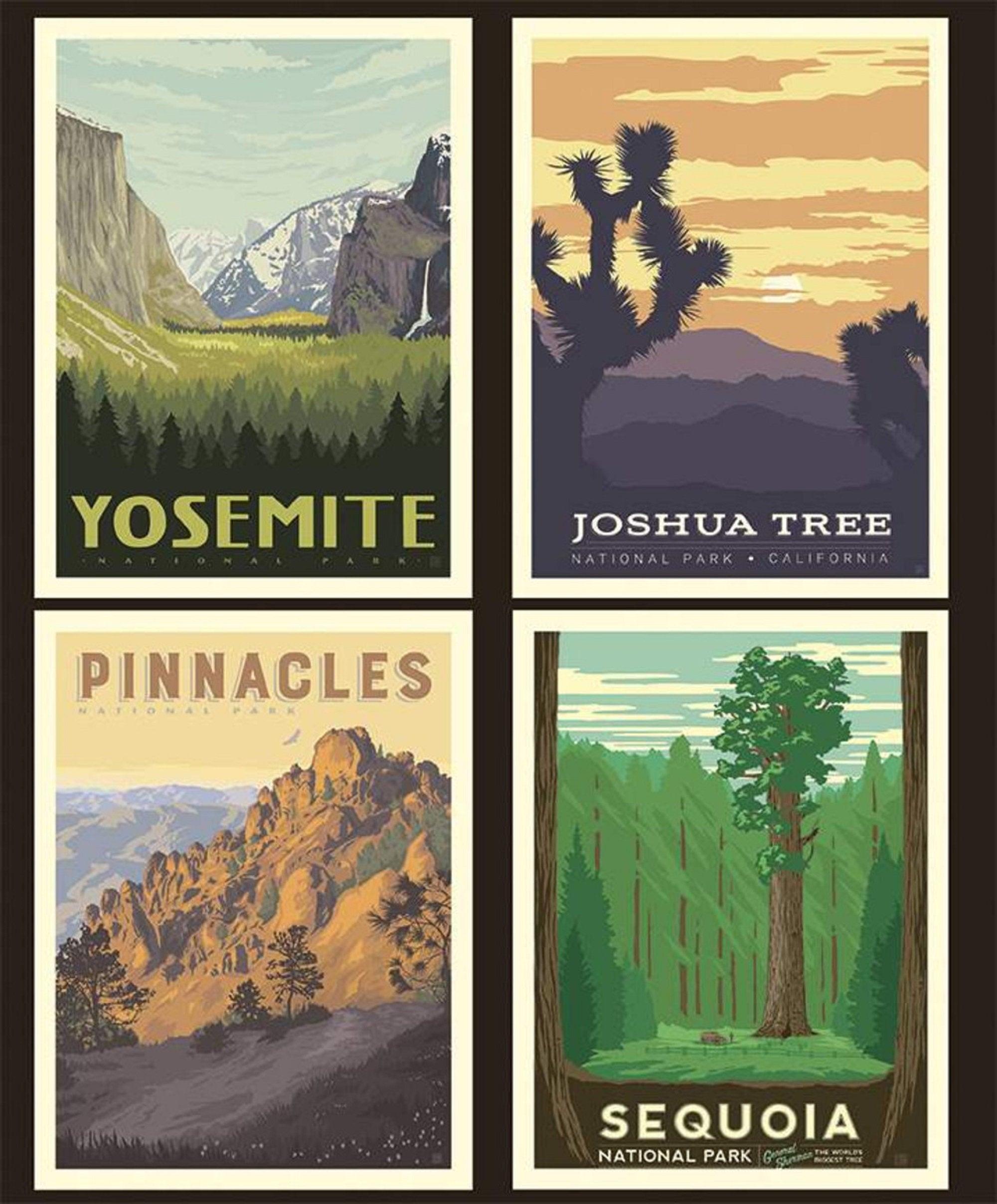 National Parks Panel - California