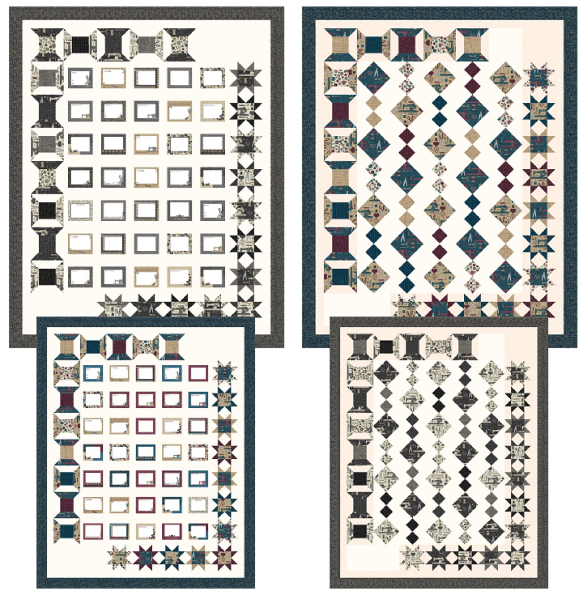 My Sewing Box  - Quilt Pattern