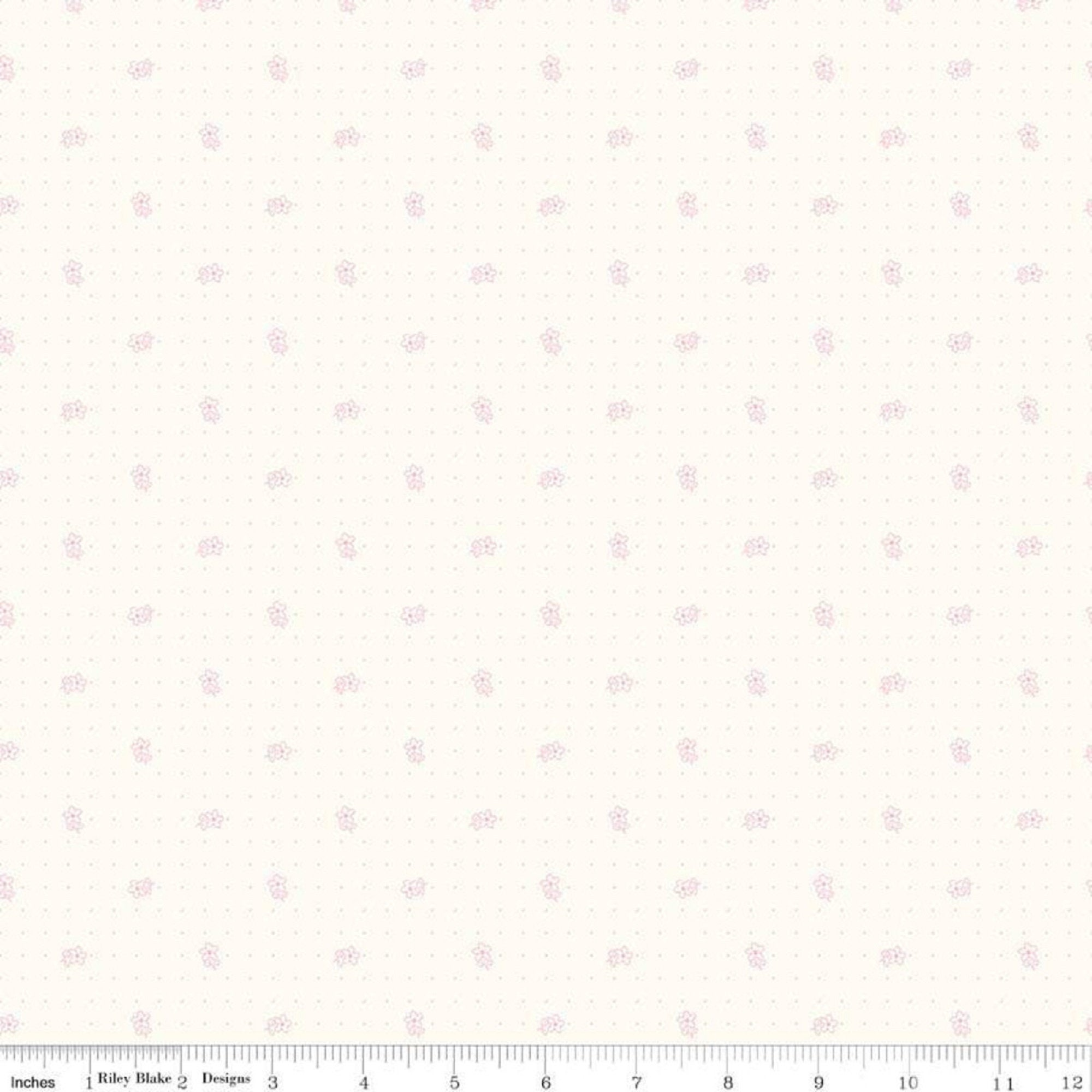 Bee Backgrounds - Daisy - Pink - Half Yard