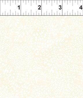 Ajisai by Jason Yenter - C5AJI-5 - White Tonal Hexagons