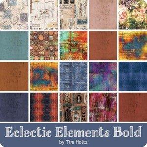 Multi-Collection - Fat Quarter - Bold - Tim Holtz Eclectic Elements