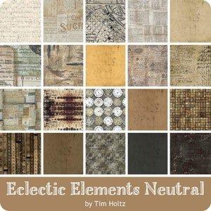 Multi-Collection - Fat Quarter - Neutral - Tim Holtz Eclectic Elements