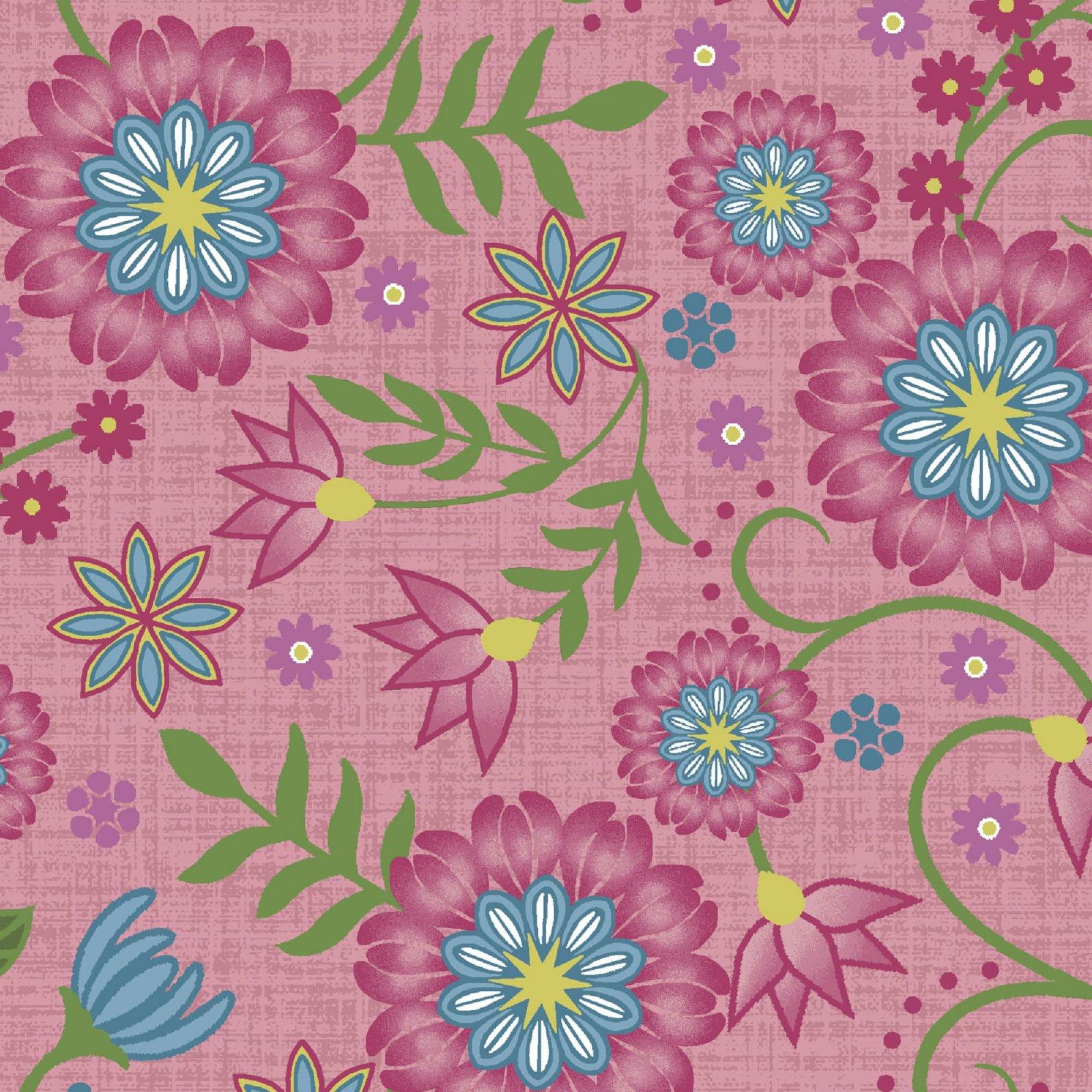 Flower & Vine - Flower and Vine - Pink