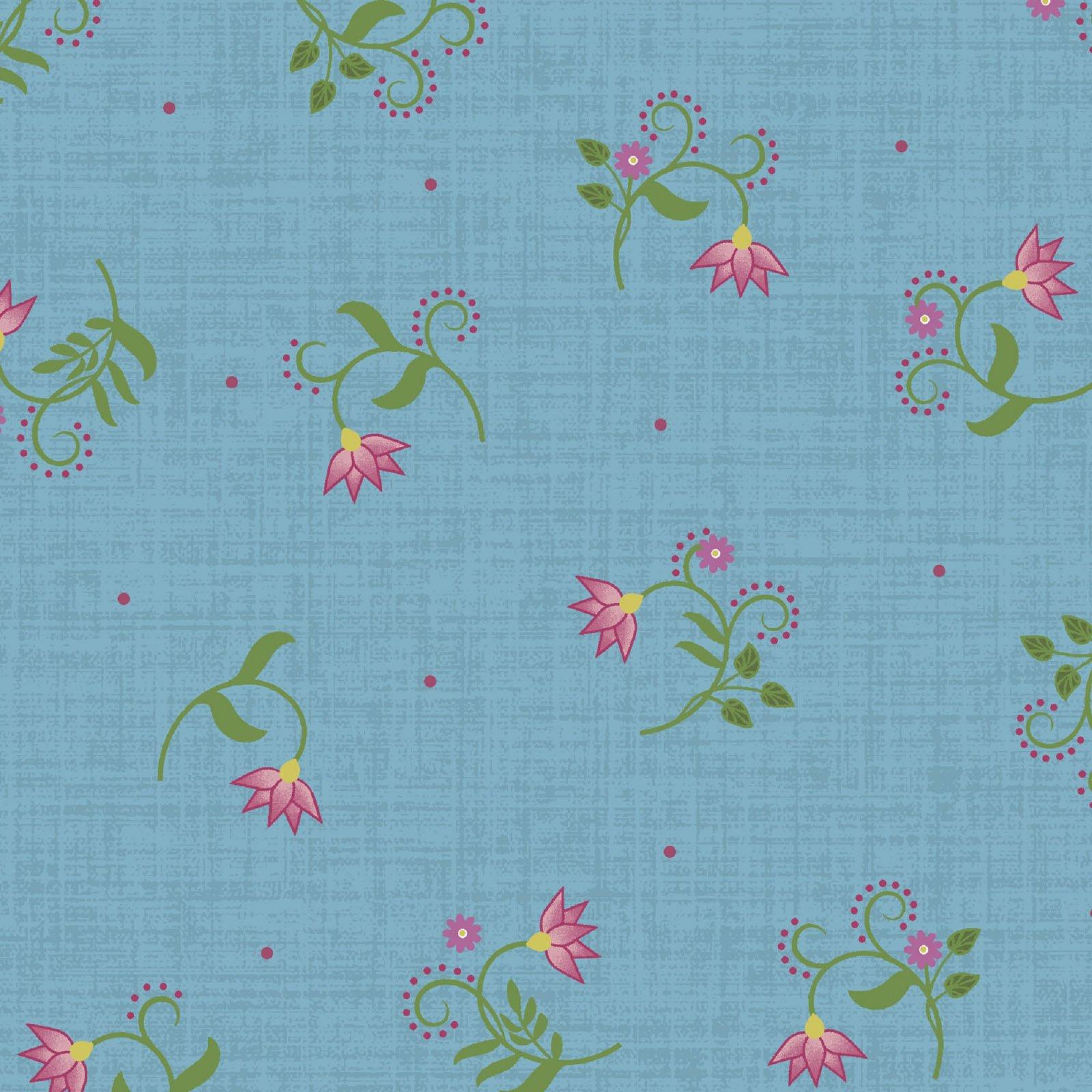 Flower & Vine - Flower Tulip - Blue