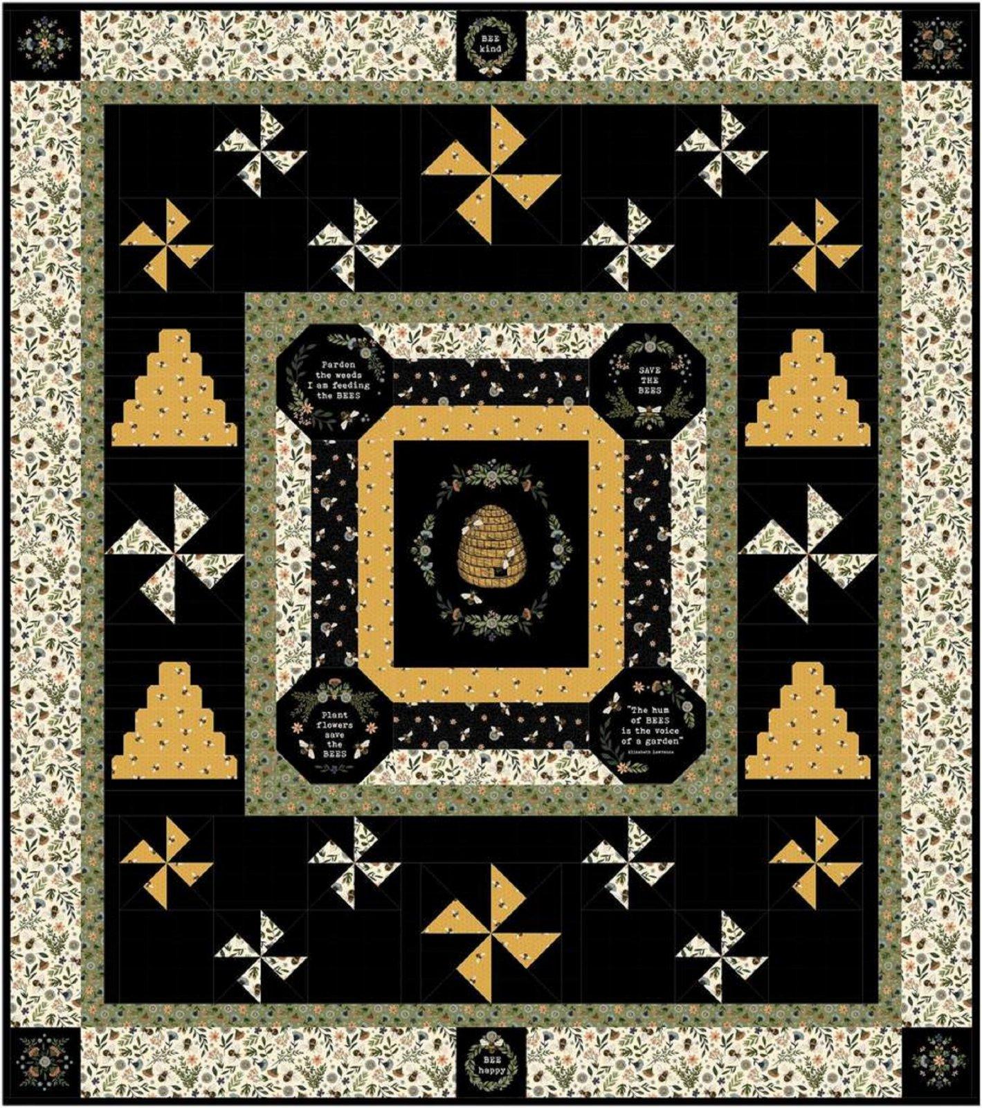 My Honey Bee Quilt Pattern