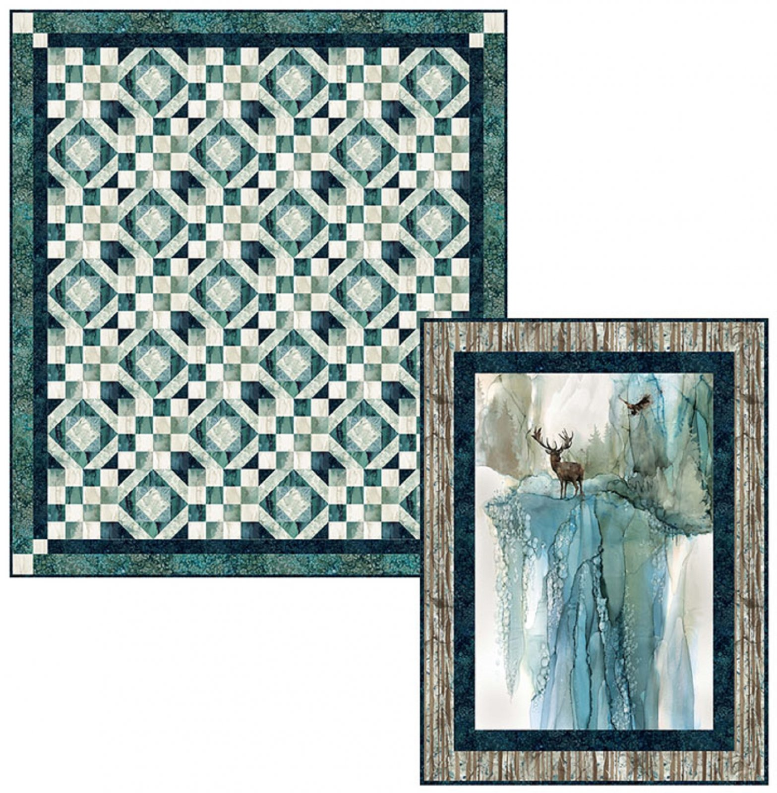 Peaceful View / Walk in the Woods Quilt Pattern