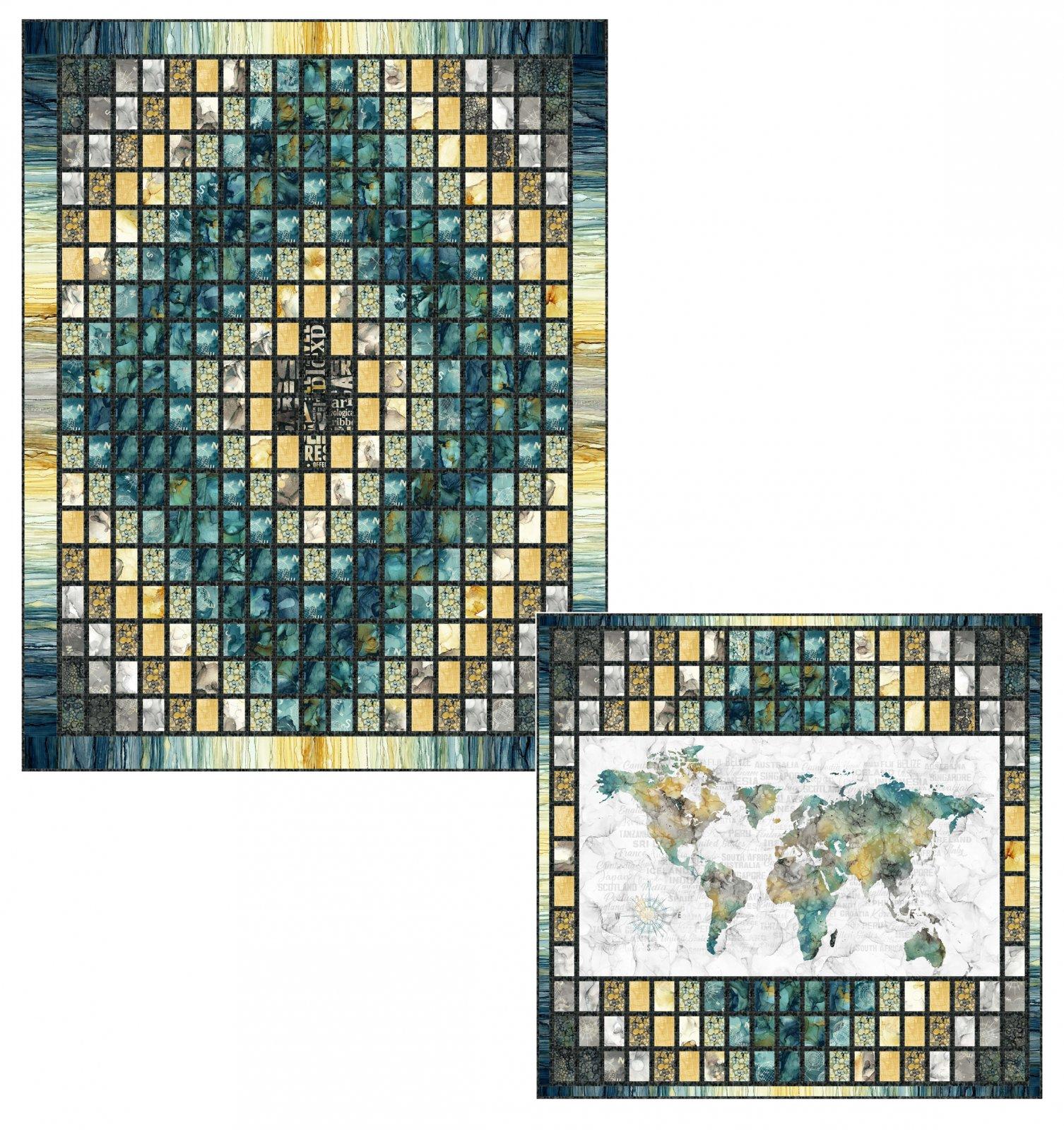 World Journey Quilt Pattern
