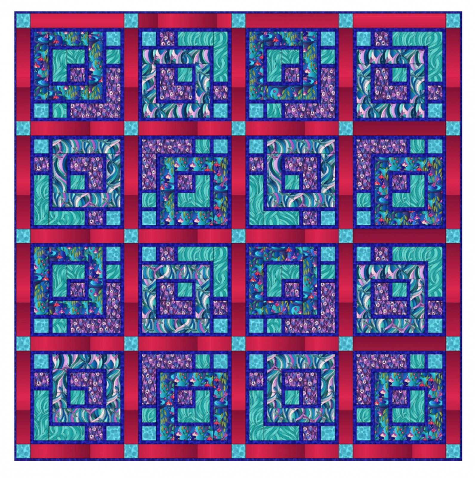 Reflections Quilt - 3 colorways