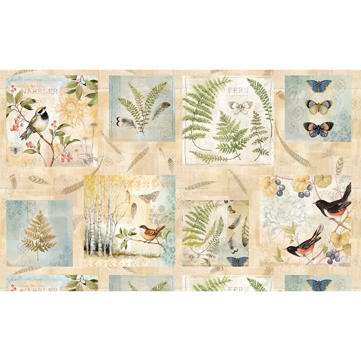 Forest Study - Craft Panel - Multi - WP39661-247