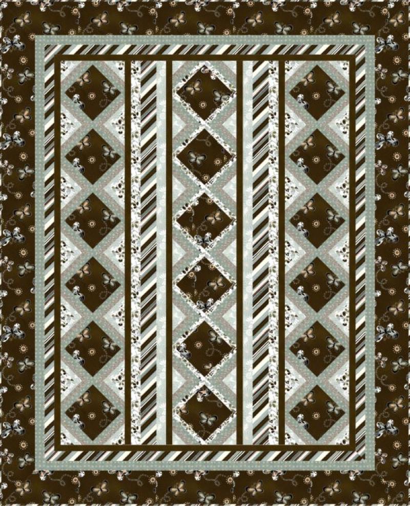 Zazzy Quilt Pattern