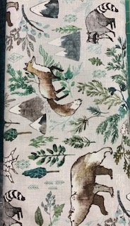 Forest Fables Taupe Critters 12