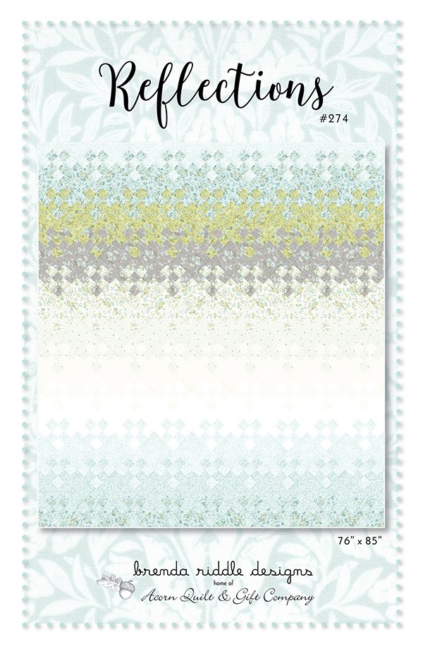 Moda Dover Reflections Quilt Kit By Brenda Riddle Designs