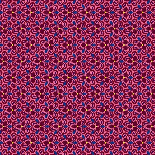 Vintage Trillium Ruby By Benartex 10244-89