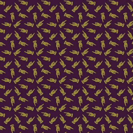 Vintage Manicule Sepia By Benartex 10245 86