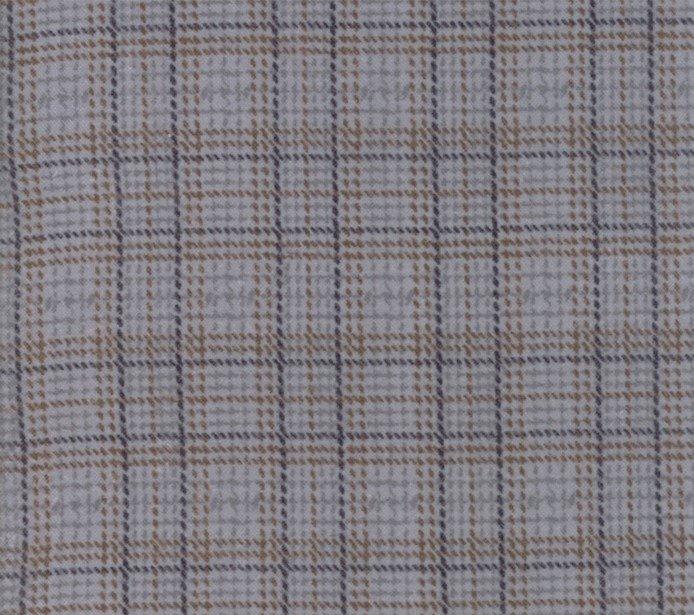 Primitive Gatherings Farmhouse Flannels Steel  By Moda Fabrics