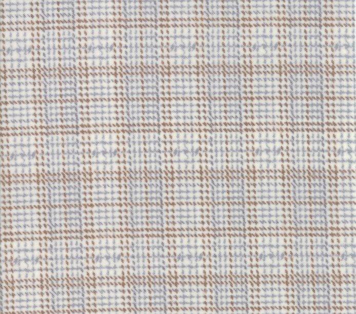 Primitive Gatherings Flannel Plaid Farmhouse Feather  By Moda