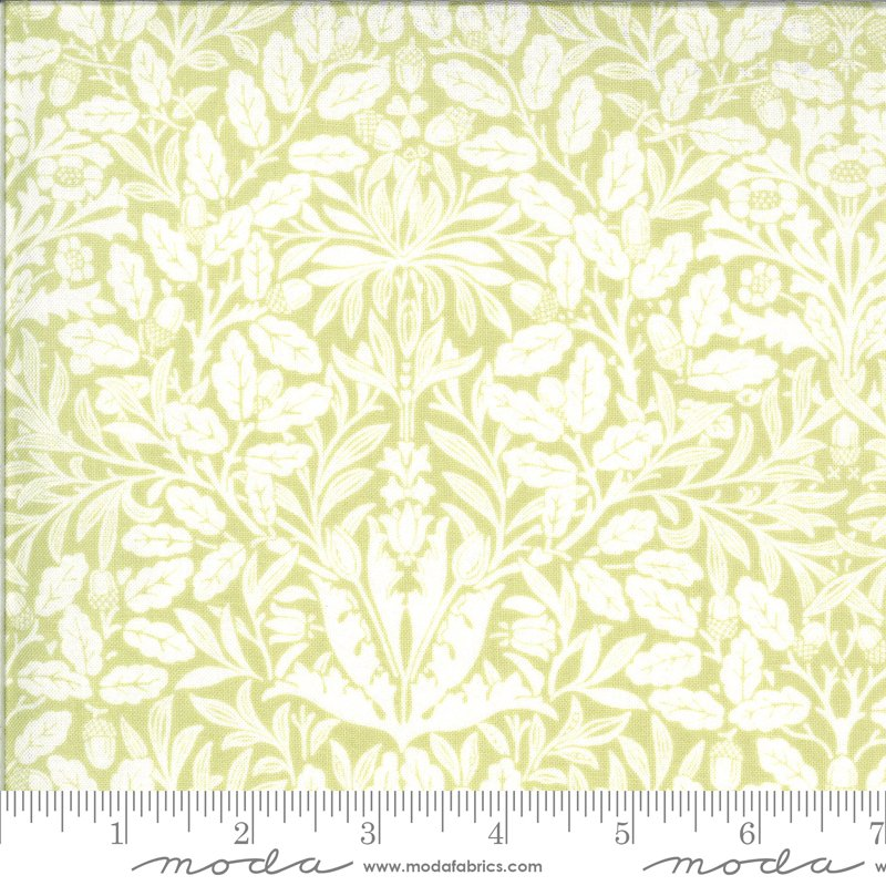 Moda Dover Acorn Damask Willow 18701 19