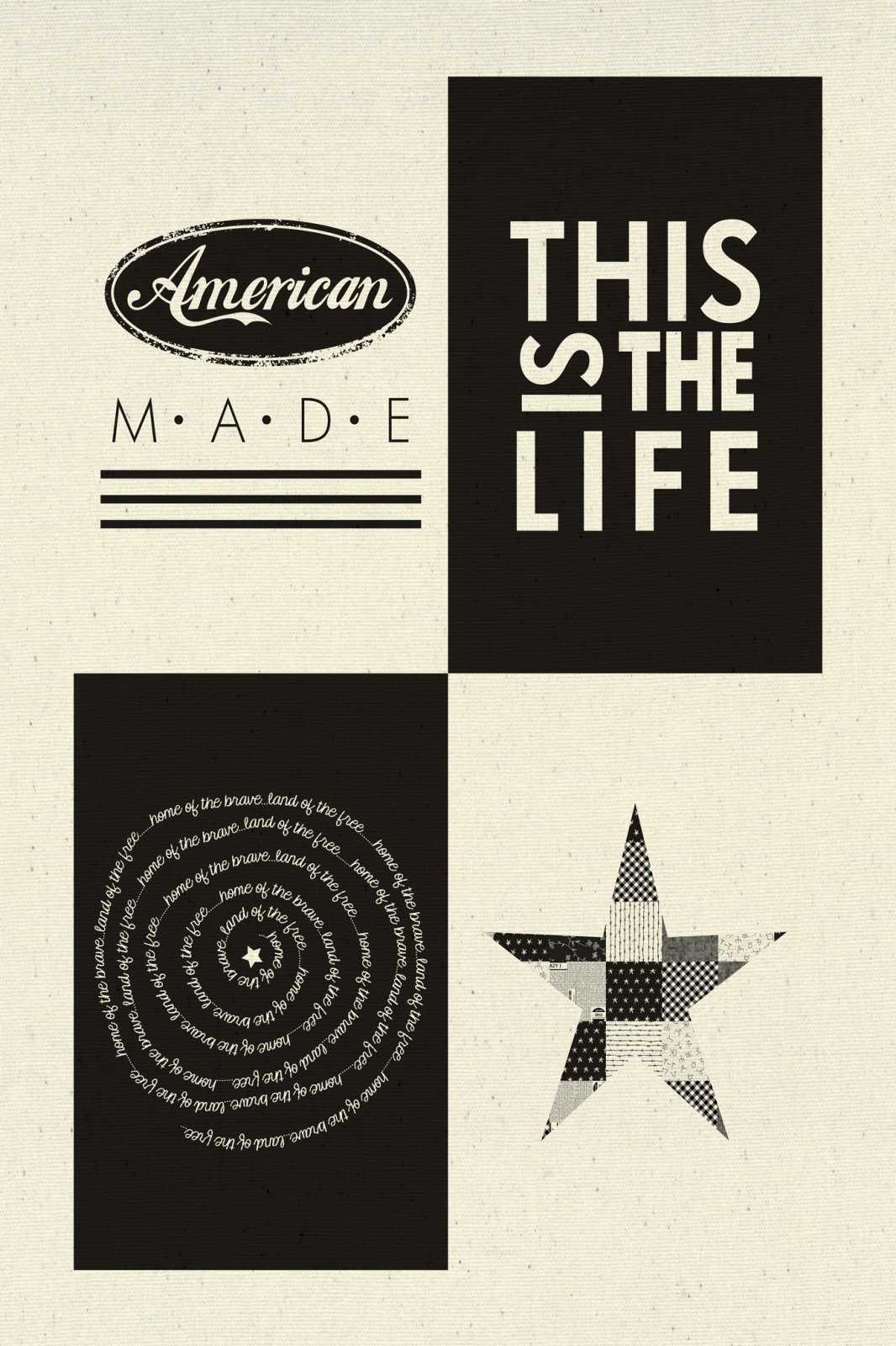 Printworks Branded American Panel