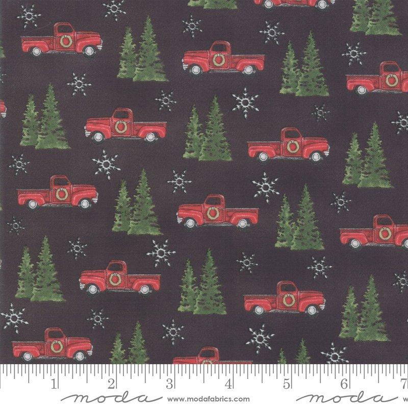 Homegrown Holidays Farm Truck Black 19942 17