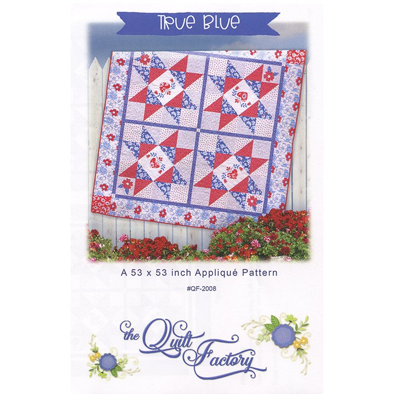 Moda Back Porch True Blue Quilt Kit