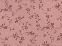 108 Quilt Backing Pink with Floral Design