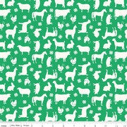 4-H Animal Fabric By Riley Blake C9120 Green