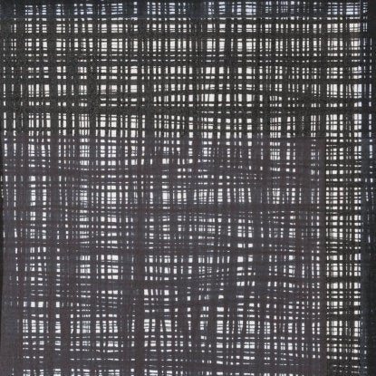 Alexander Henry A Ghastlie Weave Fabric -8593A Black and White