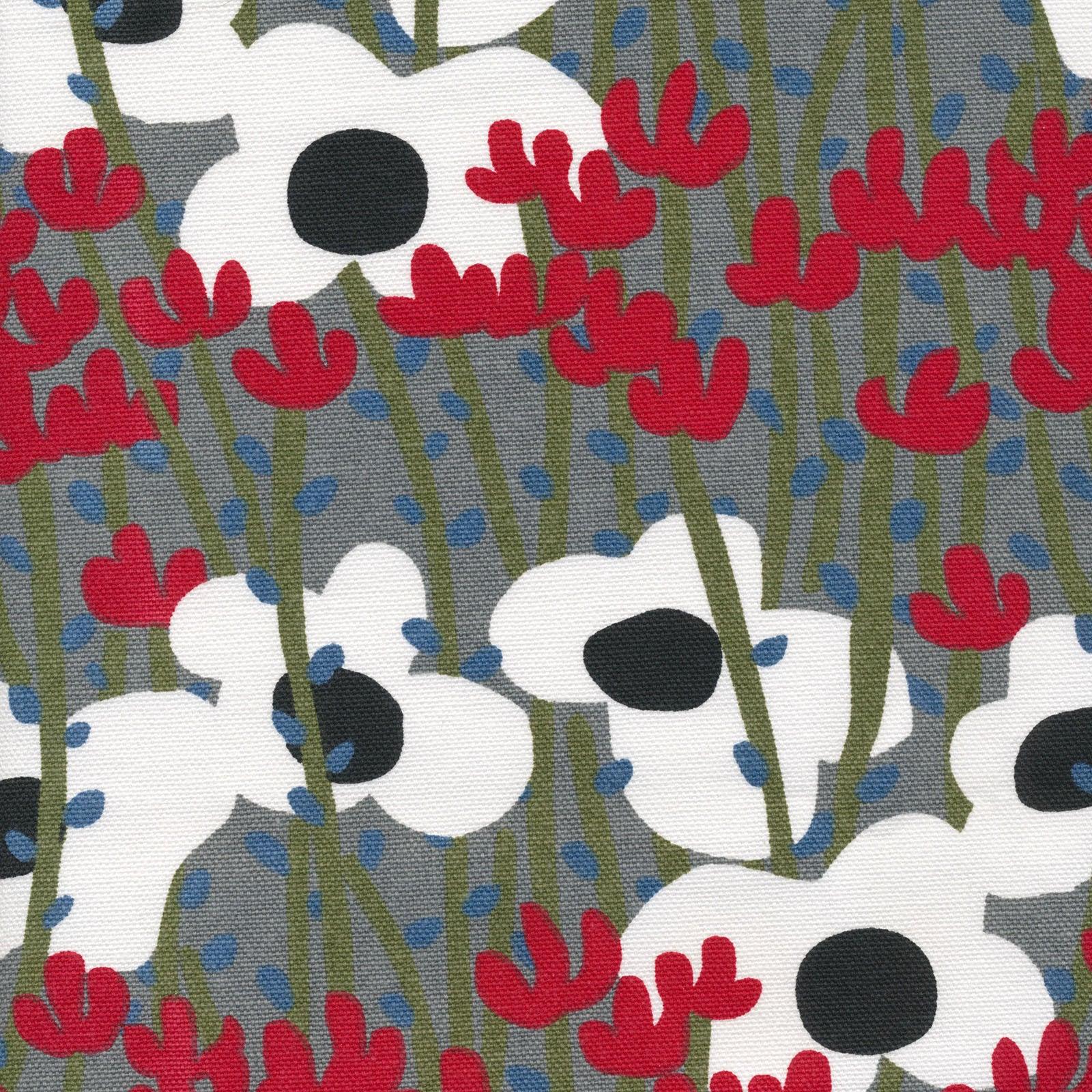 Cloud9 Fabrics Organic Cotton Duck Wildlife On the Hill 225201