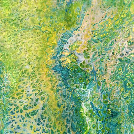 Fusion Splash Green By QT Fabrics 27607 G