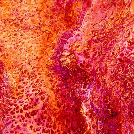 Fusion Splash Red By QT Fabrics 27607 -R